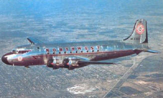 DC4 In flight