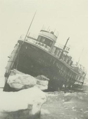 Argo in ice - 1905