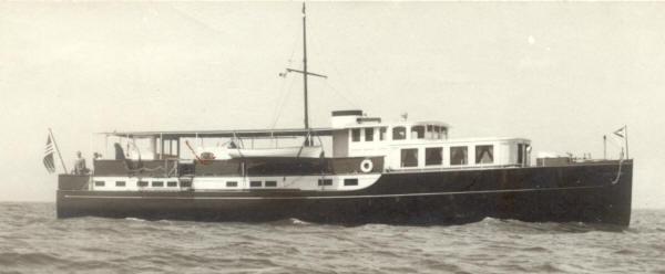 The luxury yacht Verano