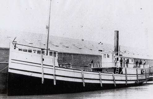 The steamer Kalamazoo