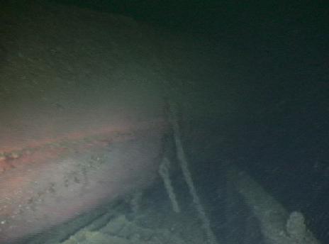 SS Michigan smokestack