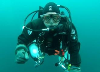 Craig Rich diving - 2015
